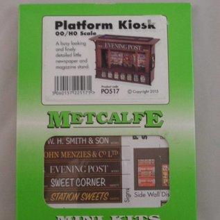 Metcalfe Metcalfe PO517 Kiosk / Zeitungsverkaufstand (Spur H0/OO)