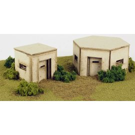 Metcalfe Bunkers (type WW2) H0/OO