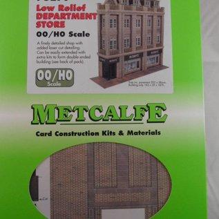 Metcalfe Metcalfe PO279 Kaufhaus in halbrelief (Spur H0/OO)