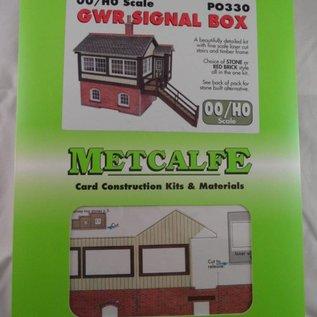 Metcalfe Metcalfe PO330 G.W.R. Signal box (H0/OO Gauge)