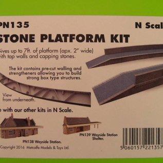 Metcalfe Metcalfe PN135 Stone platform (N gauge)