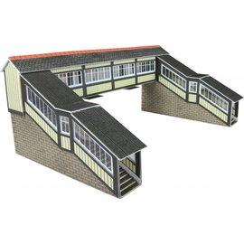 Metcalfe Fußgängerbrücke für Bahnhof (Spur N)