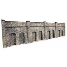 Metcalfe Retaining wall in stone (N-Gauge)