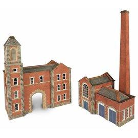 Metcalfe Metcalfe PN184 Ketelhuis met fabrieksingang (Schaal N, Karton)