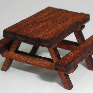 Brikho Picknic Tables, H0/00 - Lasercut