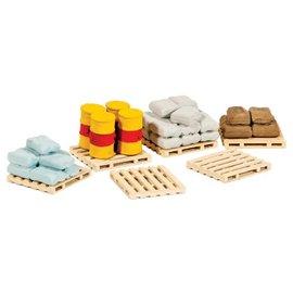 Ratio Ratio Accessories 221 Pallets, Sacks and Barrels (Gauge N)