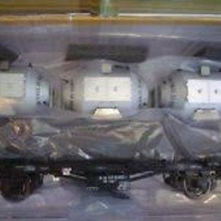 """Brawa Brawa 37158 Containercarrier """"von Haus zu Haus"""" DB Era 3/4 Gauge 0"""