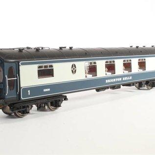 "Hornby Hornby R2988/R4527/R4528/R4529 BR Zugset ""Brighton Belle 1969"" DC Epoche IV (Spur 00/H0)"