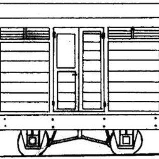 "Parkside Dundas Parkside Dundas DM03A ""Guards Van"" (Spur OO9/HOe)"