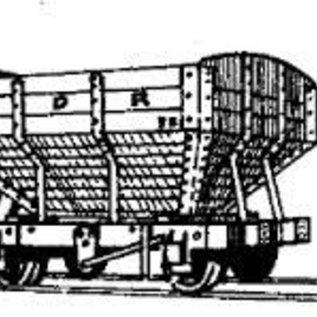 """Parkside Dundas Parkside Dundas DM06 """"Snailbeach District Railways Hopper Wagon"""" (gauge OO9/HOe)"""