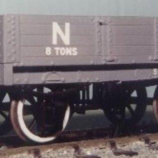 """Parkside Dundas Parkside Dundas PS06 """"LNER (ex NBR) 4 Plank Open Goods Wagon"""" (gauge O)"""
