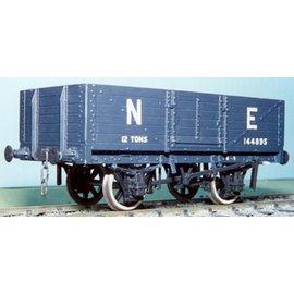"Parkside Dundas Parkside Dundas PS11 ""LNER 12 Ton 6 Plank Open Wagon"" (gauge O)"