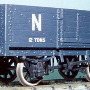 "Parkside Dundas Parkside Dundas PS11 ""LNER 12 Ton 6 Plank Open Wagon"" (Spur O)"