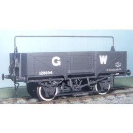 "Parkside Dundas Parkside Dundas PS27 ""GWR 12/13 Ton Open Goods Wagon (Diag. 032/033)"" (gauge O)"