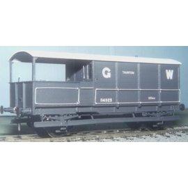 """Parkside Dundas Parkside Dundas PS44 """"GWR 20 Ton Goods Brake Van (AA19)"""" (Spur O)"""