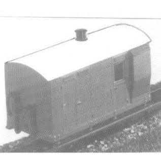 "Parkside Dundas Parkside Dundas DM17 ""Vale of Rheidol 4 Wheel Guard's Van"" (Spur OO9/HOe)"