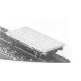 "Parkside Dundas Parkside Dundas DM23 ""Lynton & Barnstaple 4 Wheel Wagon / Van Chassis"" (gauge OO9/HOe)"