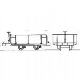 "Parkside Dundas Parkside Dundas DM31 ""Festiniog Railway 4 Wheel Hudson Steel Bodied Open Wagon"" (Spur OO9/HOe)"