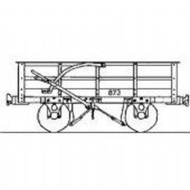 "Parkside Dundas Parkside Dundas DM53 ""Festiniog Railway 3 Ton Slate Wagon"" (gauge OO9/HOe)"