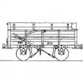 "Parkside Dundas Parkside Dundas DM55 ""Festiniog Railway Granite (End Door) Wagon"" (Spur OO9/HOe)"