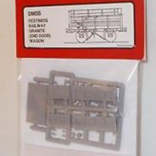 "Parkside Dundas Parkside Dundas DM55 ""Festiniog Railway Granite (End Door) Wagon"" (gauge OO9/HOe)"