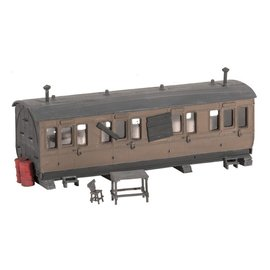 Ratio Ratio Trackside Series 501 small grounded coach (Gauge H0/00)