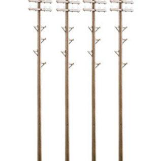 Peco Peco LK747 Telegraph Poles (Gauge 0)
