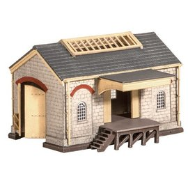 Ratio Ratio Accessories 220 Stone Goods Shed (Gauge N)