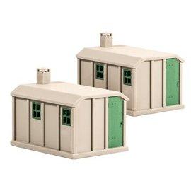 Ratio Ratio Lineside 518 Concrete Huts (Gauge H0/00)