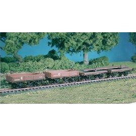 Ratio Ratio Rolling Stock 575 Permanent Way Wagons Set (gauge H0/00)