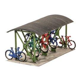 Wills Wills Scenic Series SS23 Fahrradstand + Fahrräder (Spur H0/00)