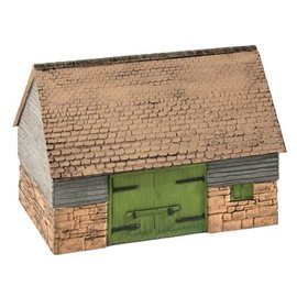Wills Wills Scenic Series SS30 Stone and Timber Barn (Gauge H0/00)