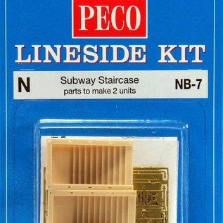 Peco Peco NB7 Subway Staircase (Gauge N)