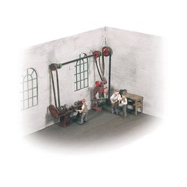Wills Wills SSAM102 Werkstatt Aussmückungsteile (Spur 00/H0)