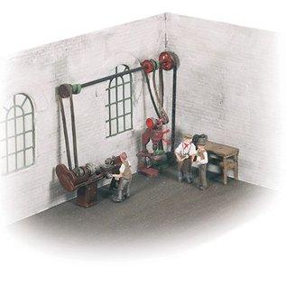 Wills Wills SSAM102 Werkplaats accessoires (schaal H0/00)