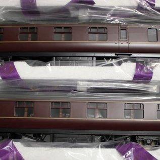 """MTH MTH 22-60050 BR """"4-Car LMS Standard Passenger Set, Maroon""""  (Spur 0)"""