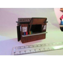 Ancorton Models Imbißstand/Kiosk (Baugröße 0, Lasercut)