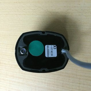 Aqua Signal LED Seitenlicht / Grün / schwarzes Gehäuse