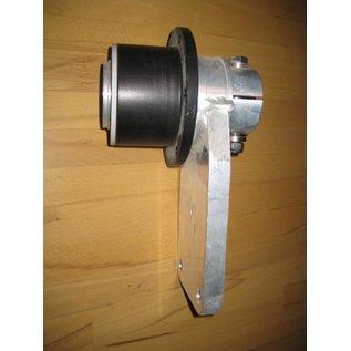 Jefa Quadrant Tiller Lever mit Ruderlager 65 mm