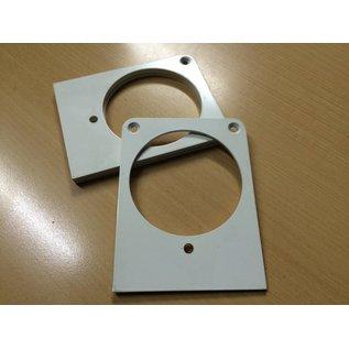 Montageplatte / Wema / VDO / Schalter / Instrument / Boot /Yacht / 90 mm
