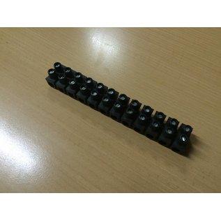 Lüsterklemme Schraubklemme Reihenklemme 16 mm² 12-polig