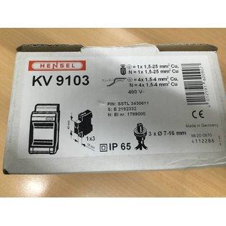Hensel Hensel KV 9103 Automatengehäuse Kleinverteiler EAN 4012591620907