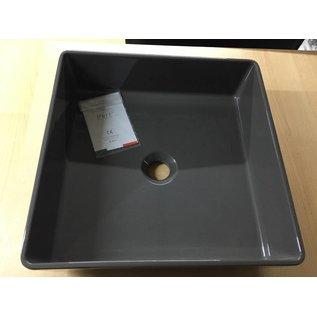 Glass Design Aufsatz Waschbecken 400 x 400 mm