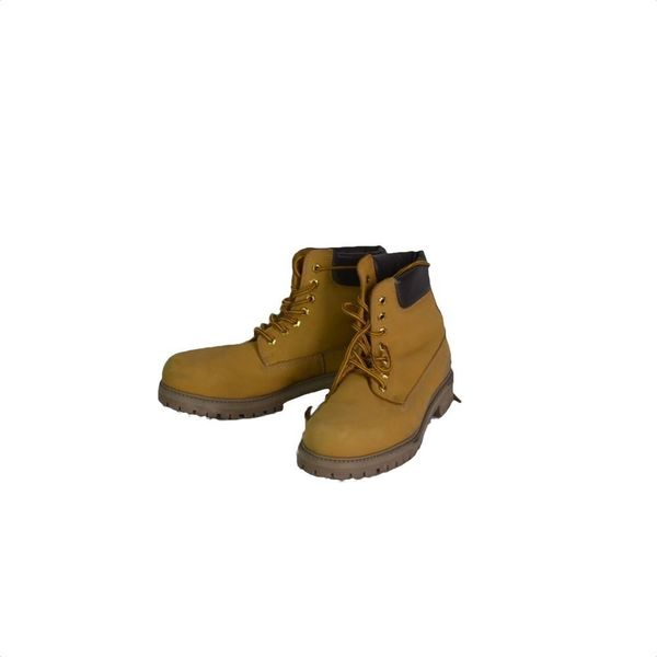 Pier One geel/bruine lace boots (41)