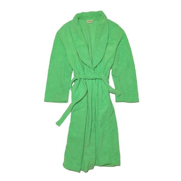 Groene badjas (M)