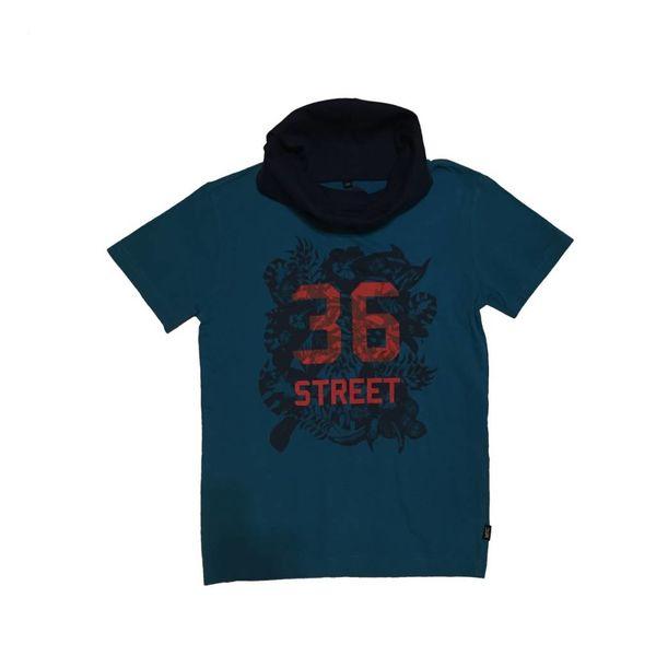 Long neck T-shirt (140)