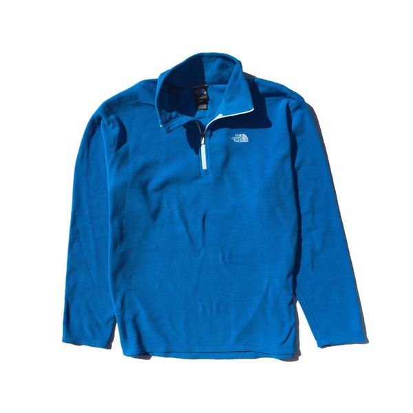 Blauwe fleece trui (XL)
