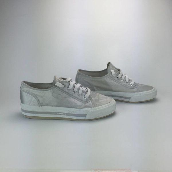 Zilveren sneakers (42)