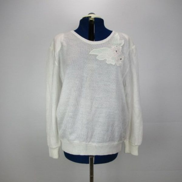 Witte trui (L)