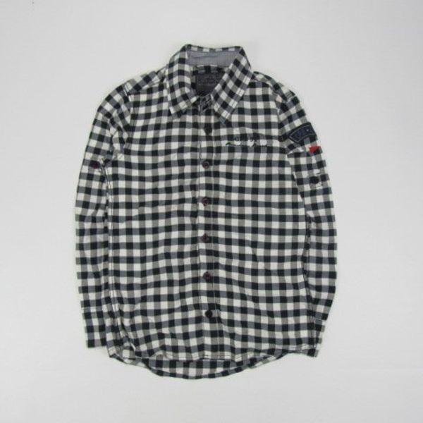 Geruit overhemd (128)